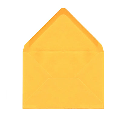 Sunflower Yellow Envelopes by Gobrecht & Ulrich - Open