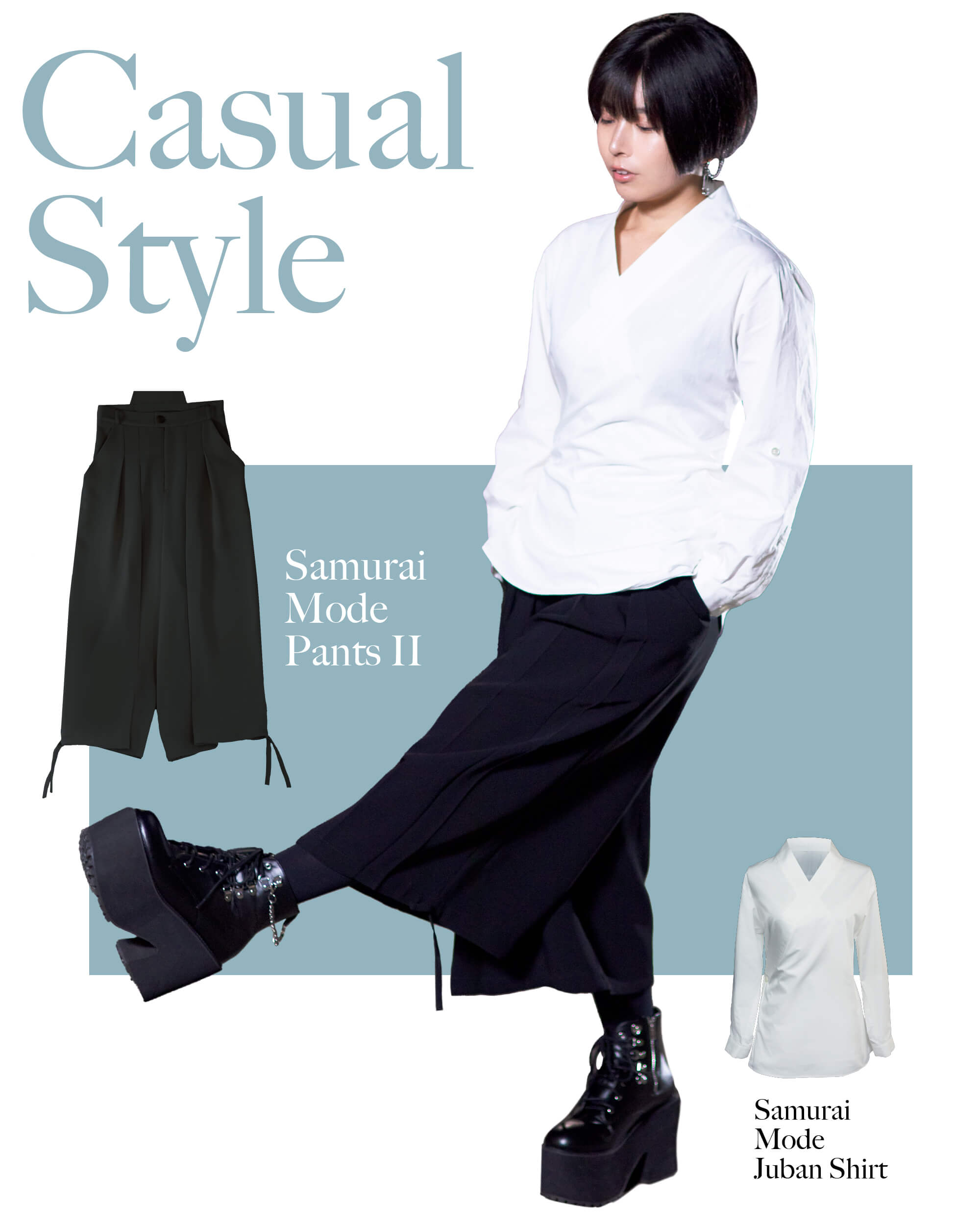 Samurai Mode Pants Casual Style