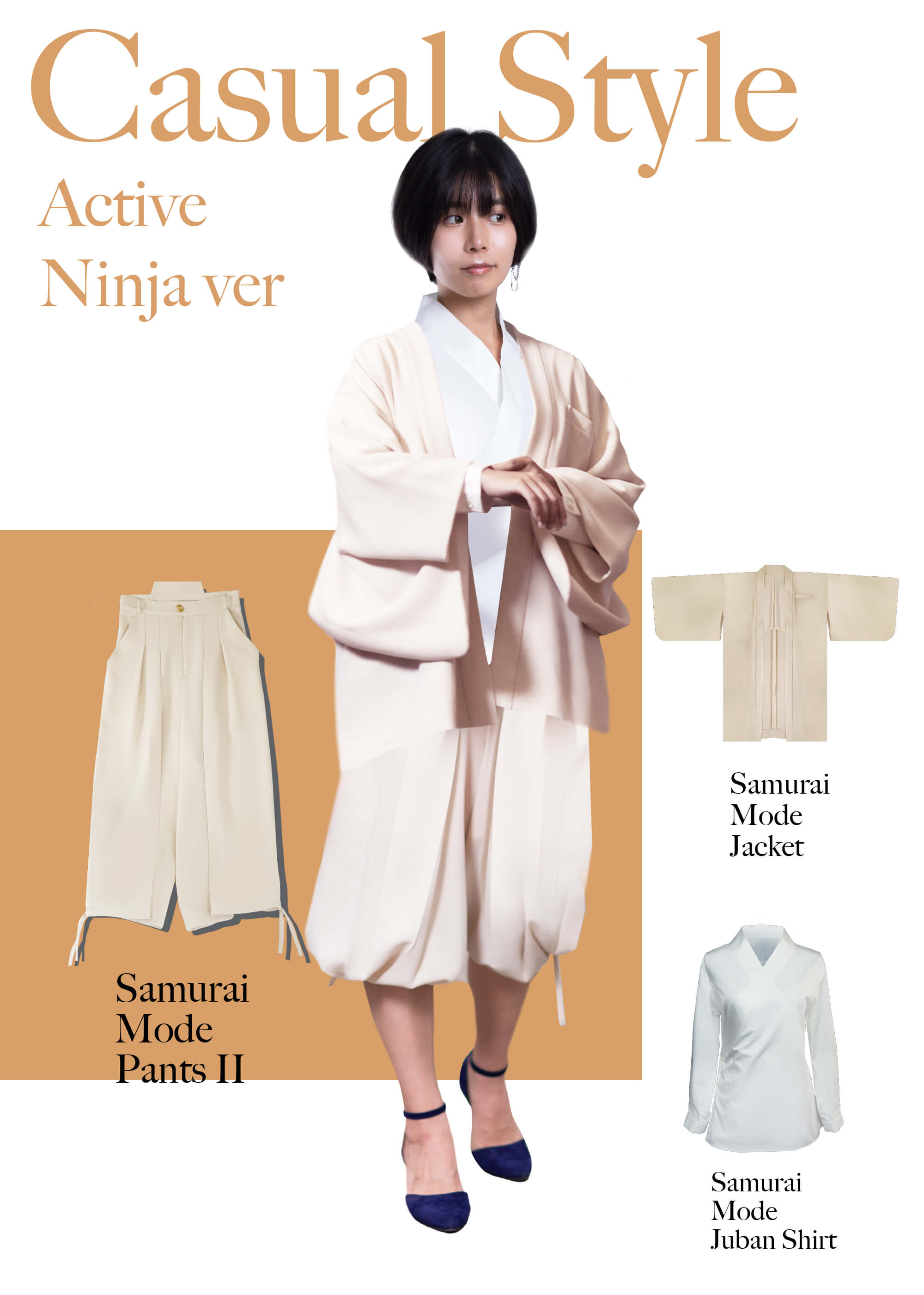 Samurai Mode Pants II Active Ninja version