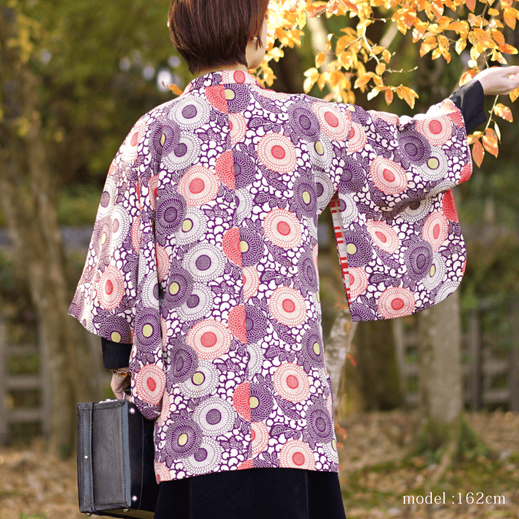 Japanese modern design pattern Haori,Japanese kimono,womens haori,KAWAII
