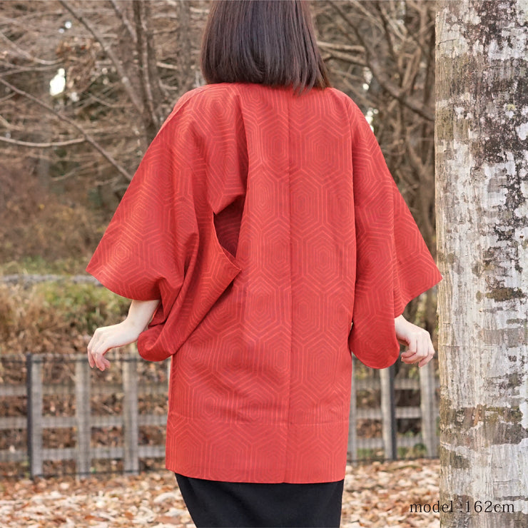 see-through japanese traditional mothif design michiyuki,Japanese vintage kimono,womens