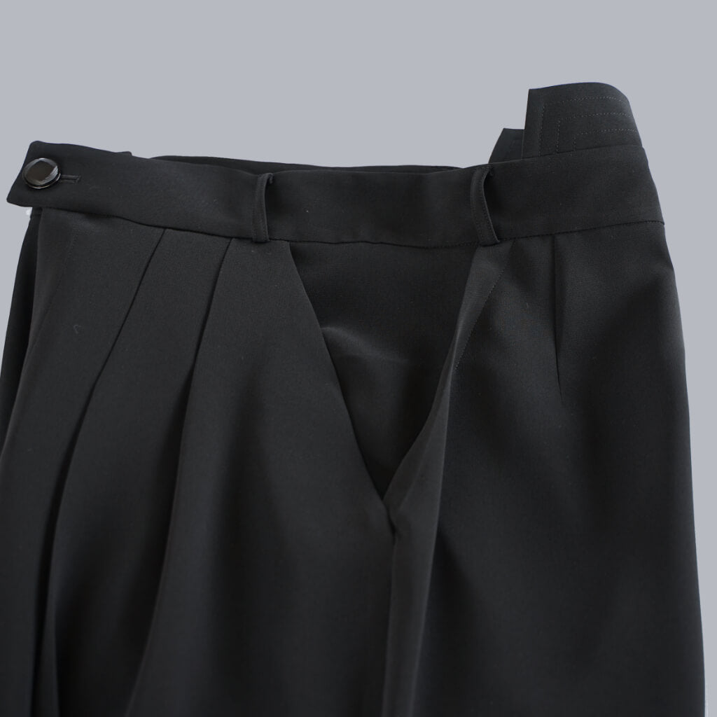 Samurai Mode Pants -Black-