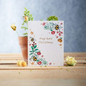 Plant a Card - Hap-bee Christmas