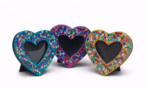 Sparkle Sequin Picture Frames - Choice of 3 colours