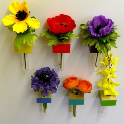 Hand-crafted Fridge Magnet vases