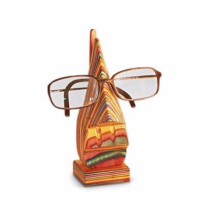 Jazzy Wooden Spectacles Holder