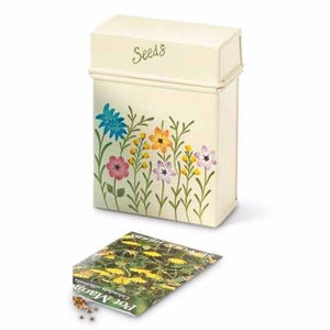 Meadow Flower Seed Tin - Choice of 2 colours