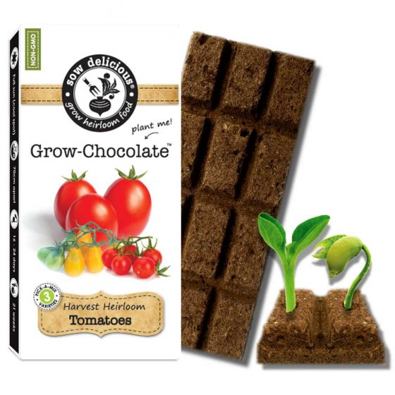 Sow Delicious - Tomatoes Grow Chocolate
