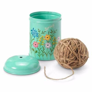 Meadow Flower Garden Twine Dispenser - Choice of 2 colours