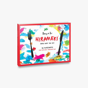 Hirameki Place Mats - Draw what you see!