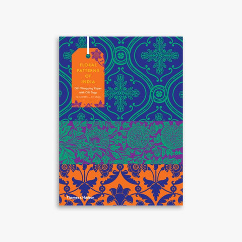Floral Patterns of India - Book of Giftwrap & Tags