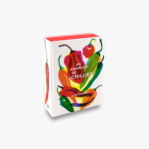 An Anarchy of Chillies - 16 Notecards