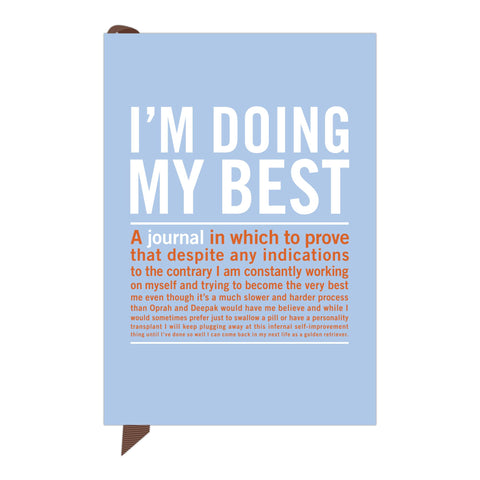 """I'm Doing My Best"" - mini inner truth journal"