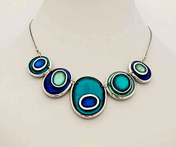 Organic Circles Collection - necklace
