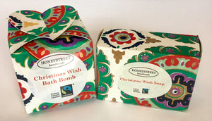 Honeystreet Christmas Wish handmade soap