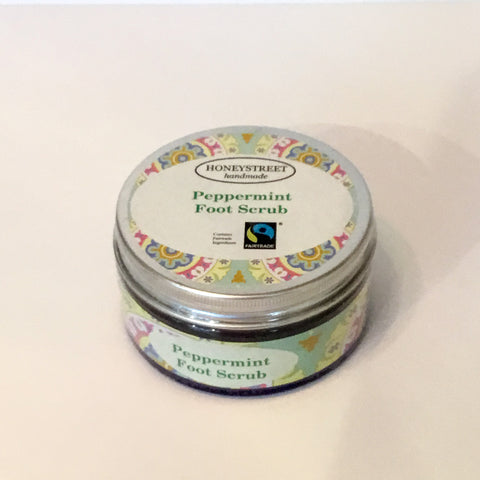 Honeystreet Peppermint Foot Scrub