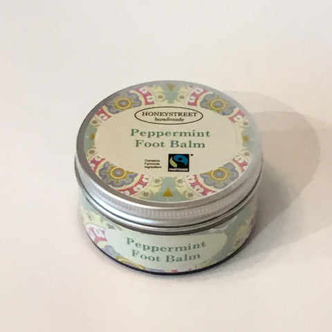 Honeystreet Peppermint Foot Balm