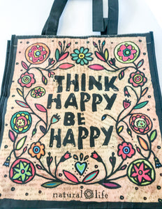 Recycled Plastic Giftbag (Large) - Think Happy Be Happy