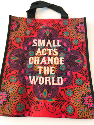 Recycled Plastic Giftbag (Large) - Small Acts Change The World