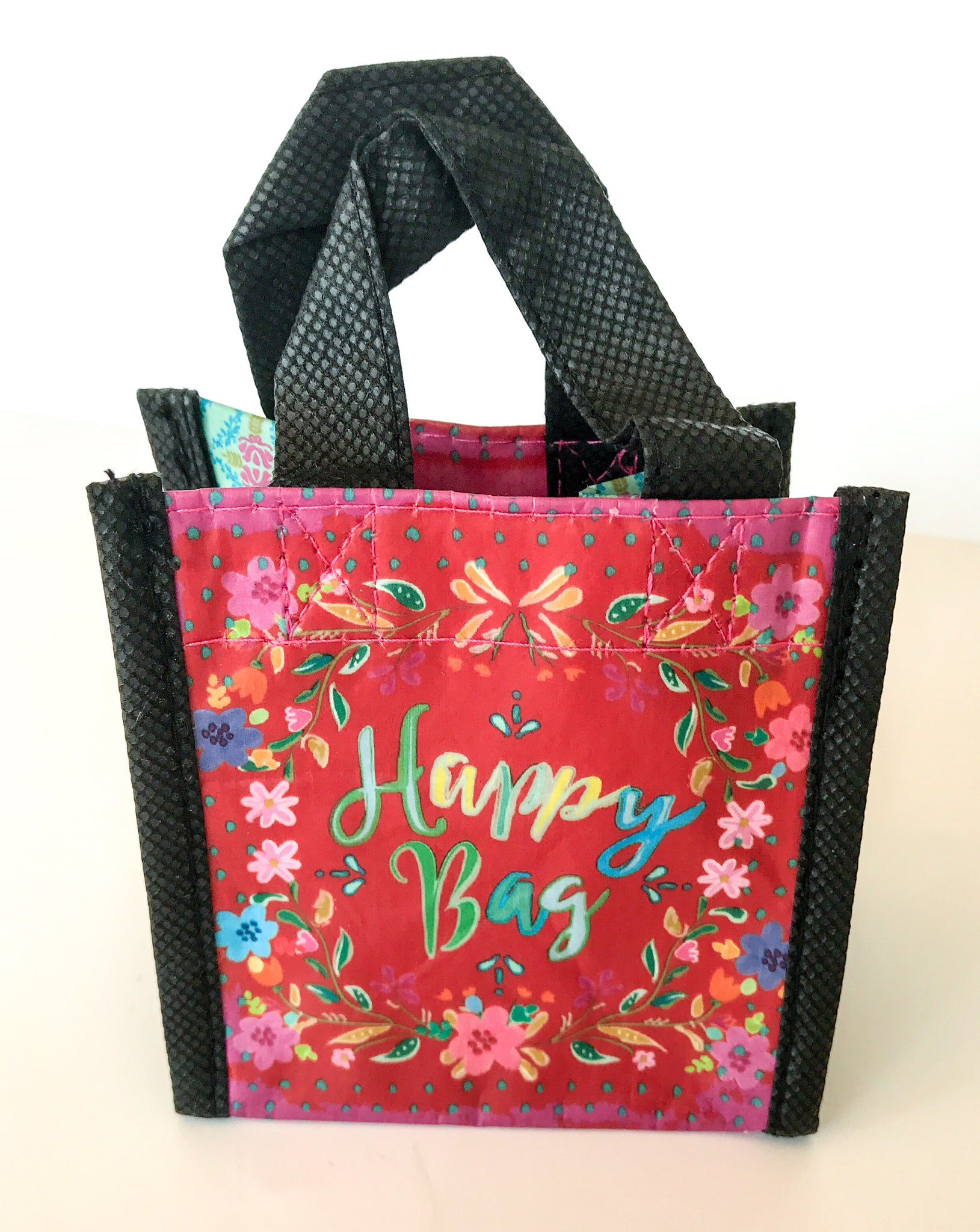 Recycled Plastic Giftbag (Mini) - Happy Bag