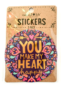 Happy Stickers - You Make My Heart Happy