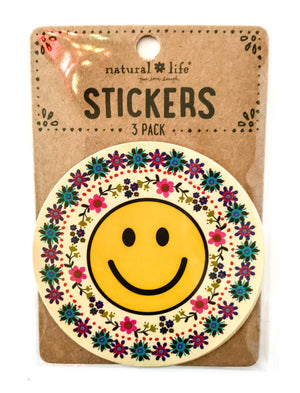 Happy Stickers - Smiley Face
