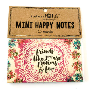 Mini Happy Notes - Friends Like You Are Precious and Few