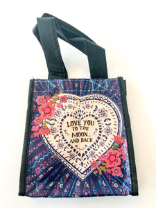 Recycled Plastic Giftbag (Small) - Love You To The Moon...And Back