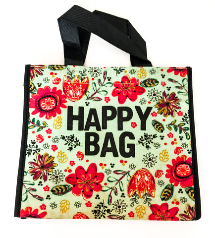 Recycled Plastic Giftbag (Medium) - Happy Bag