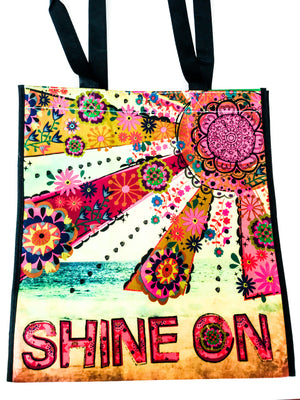 Recycled Plastic Giftbag (Large) - Shine On