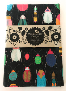 MaggieMagoo Designs - Dark Bugs Tea Towel