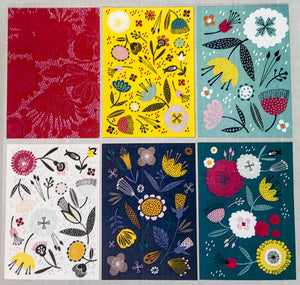 MaggieMagoo Designs Postcard Pack - Floral Mix