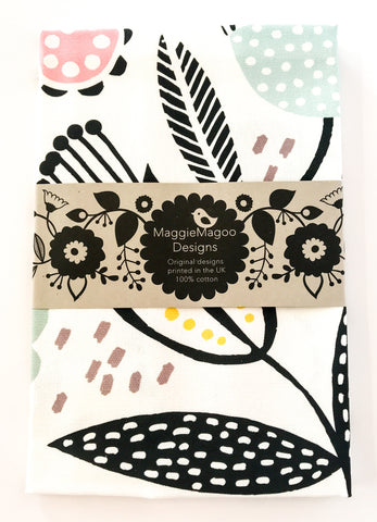 MaggieMagoo Designs - Multi Floral Tea Towel