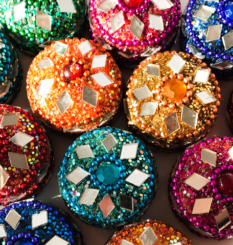 Mini Glitter trinket boxes