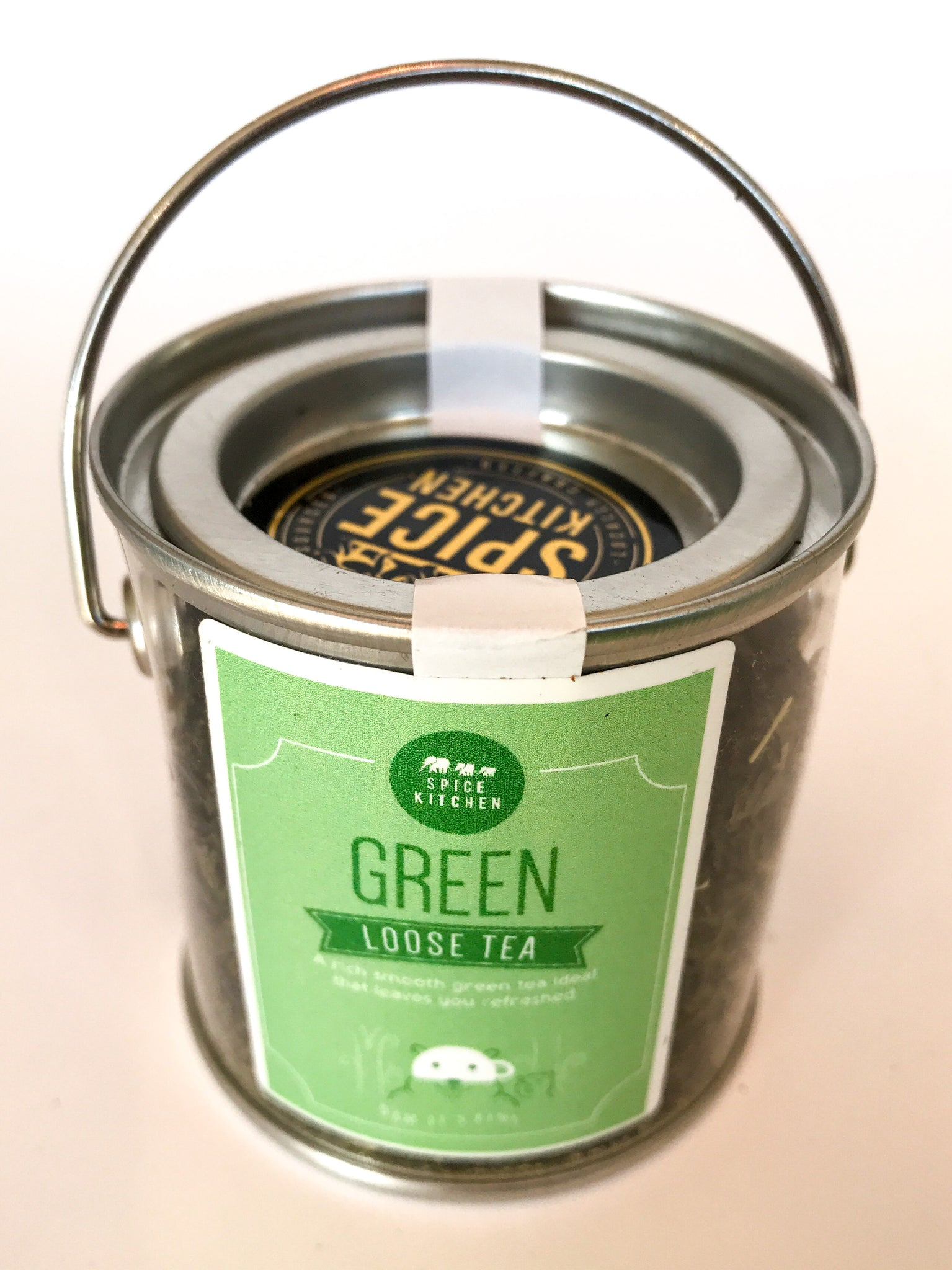 Spice Kitchen Loose Tea 'Paint Pots' - Green Tea