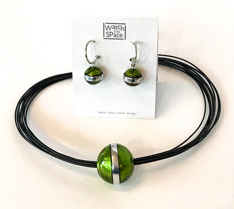Aluminium Ball Collection - Creole Earrings