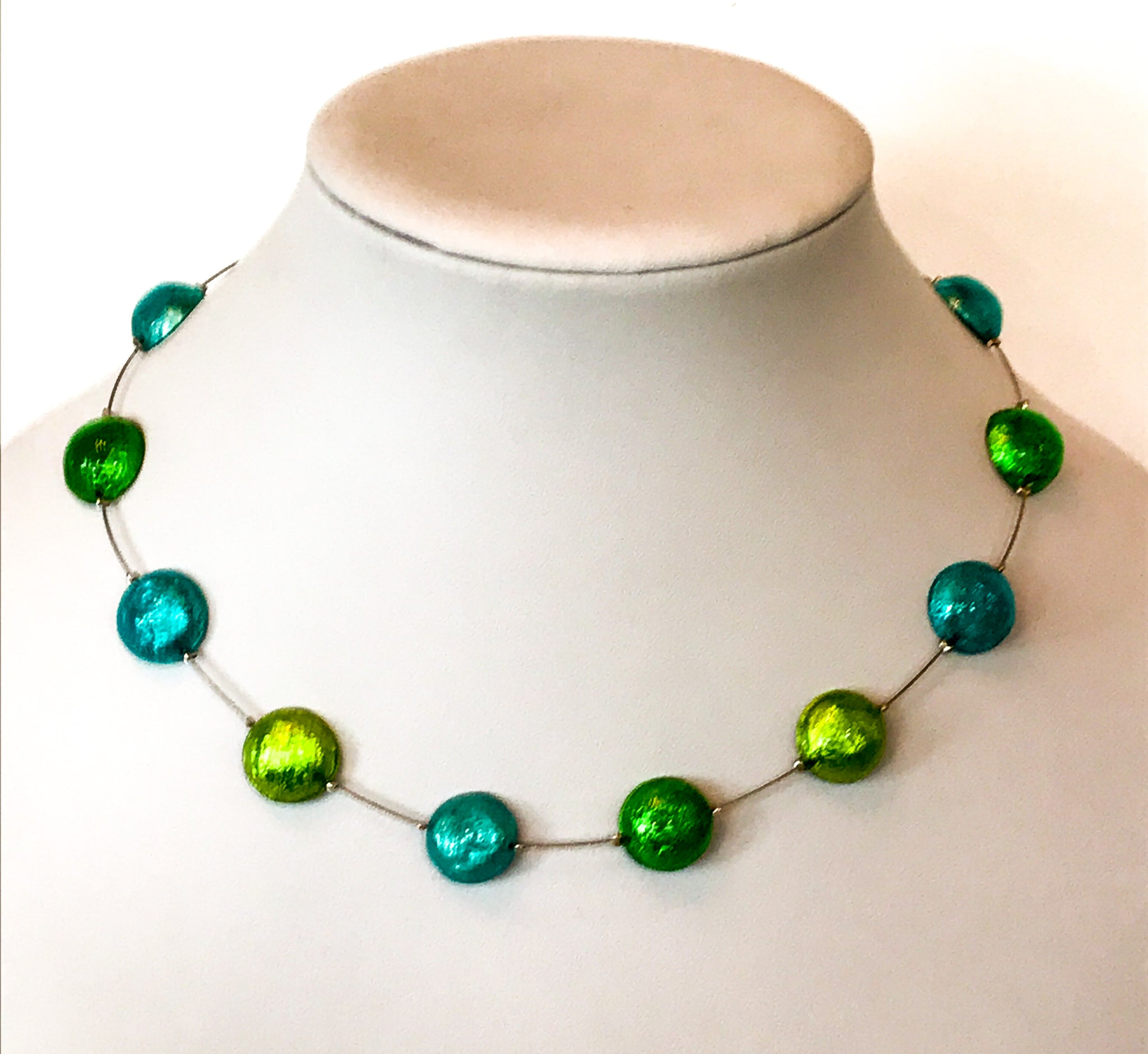 Caribbean Cabouchon necklace