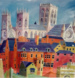 Jan Richardson Cards - Over Rooftops to the Minster