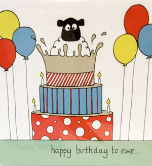 Helen Russell Cards - Happy Birthday to Ewe