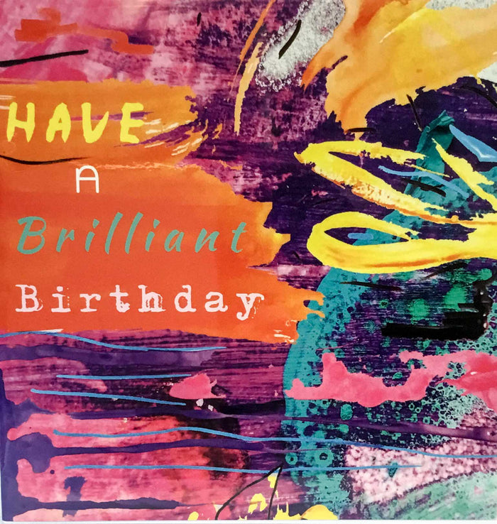 Elizabeth Medley Cards - Have a Brilliant Birthday