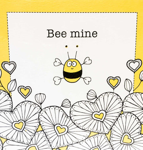 Helen Russell Cards - Bee Mine