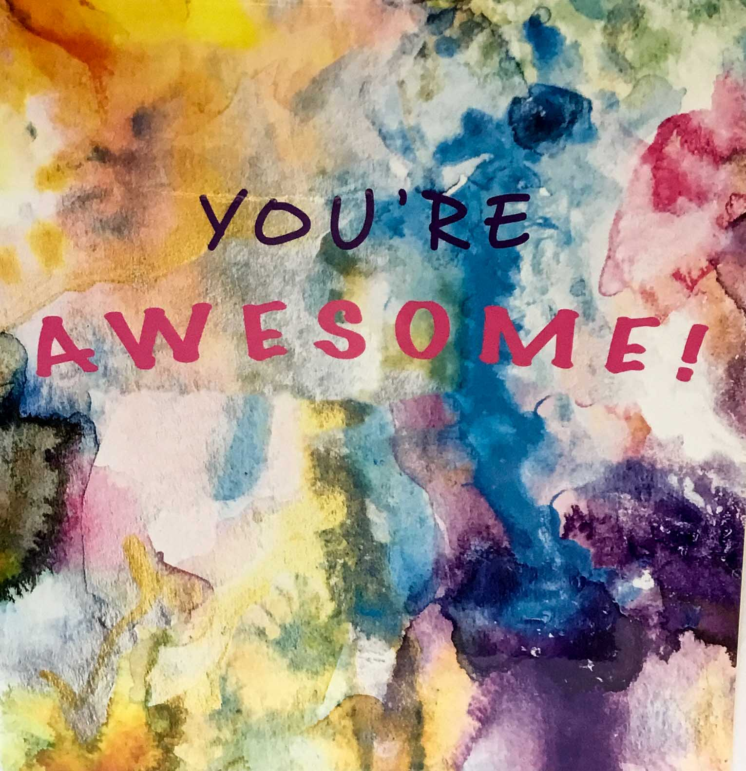 Elizabeth Medley Cards - You're Awesome