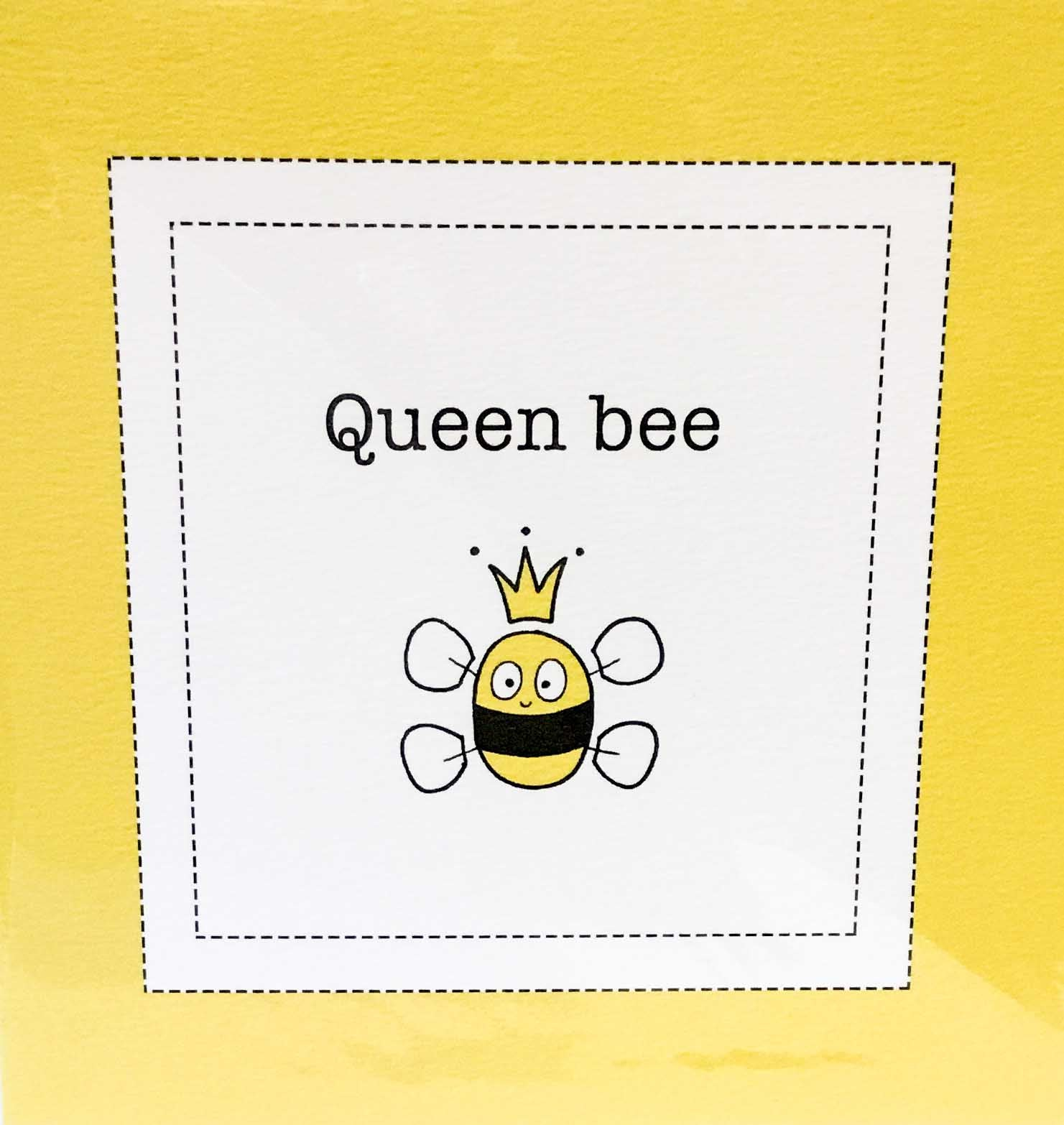 Helen Russell Cards - Queen Bee