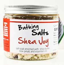 Carishea Natural Bathing Salts - Shea Joy