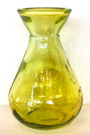 100% Recycled Glass Bud Vases - Choice of 12 colours