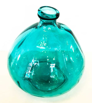 100% Recycled Glass Bottle/Vase - 23cm