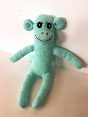 Sock Monkey - Minty