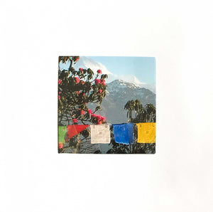 Rebecca Rowan Greetings Card - Prayer Flags Aperture
