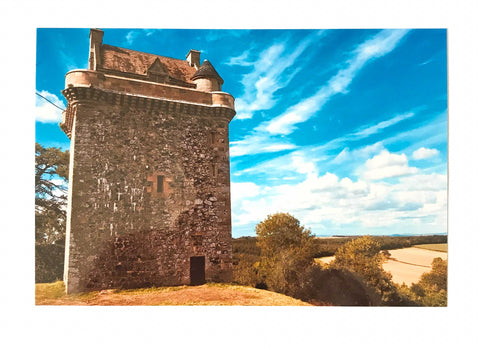 Rebecca Rowan Greetings Card - Fatlips Castle