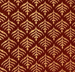 Luxurious Recycled Rag Wrapping Paper - Benares Red
